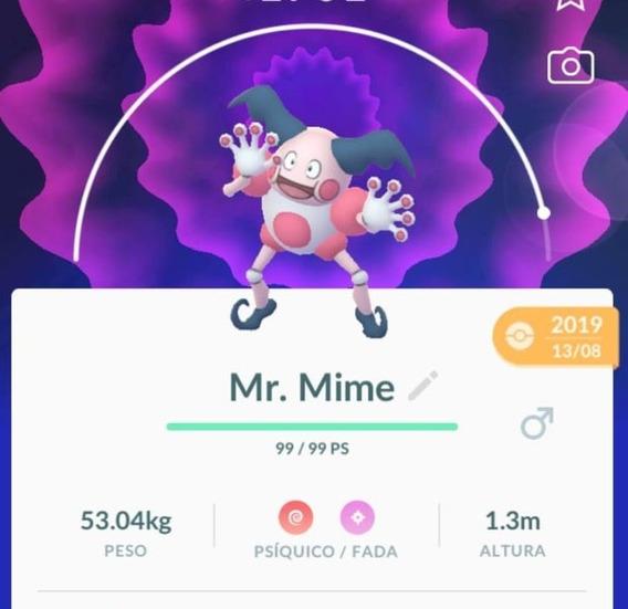 Mr. Mime Pokemon Go
