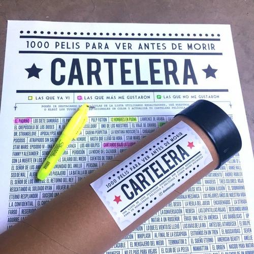 Poster 1000 Pelis Para Ver Antes De Morir - Cartelera - Cine