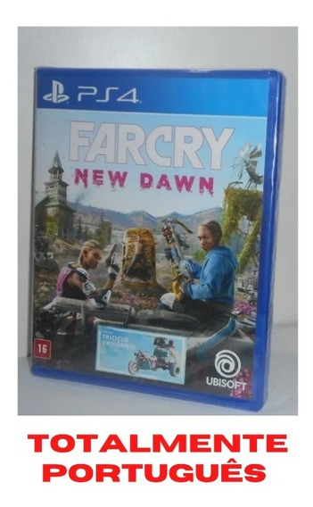Farcry New Dawn Ps4 Mídia Física Novo Lacrado