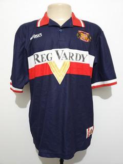 Camisa Oficial Sunderland Inglaterra 1999 Away Asics Tam G
