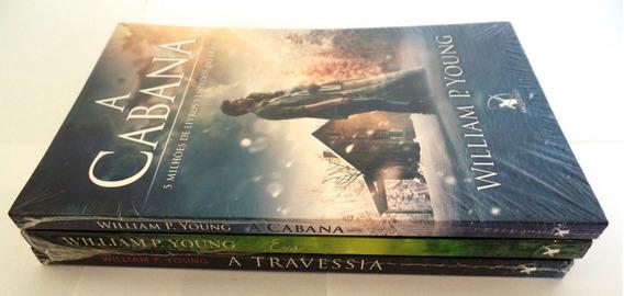 Kit Livro A Cabana, Eva E A Travessia Novos E Lacrados