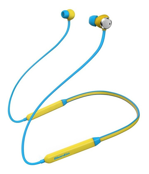 Bluedio Noise Reduction Sport Bluetooth Headset Amarelo
