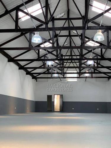 Galpão Para Alugar, 457 M² Por R$ 11.500,00/mês - Vila Ré - São Paulo/sp - Ga0739