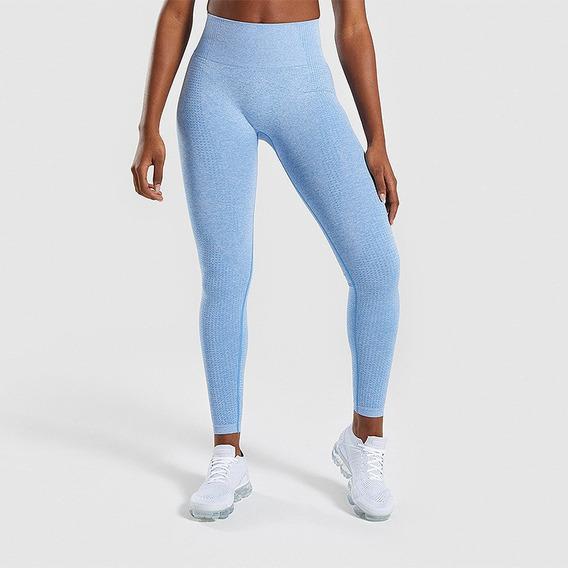 Leggings Lycra Colombiana Mujer, Cintura Alta Fit, Gym, Yoga
