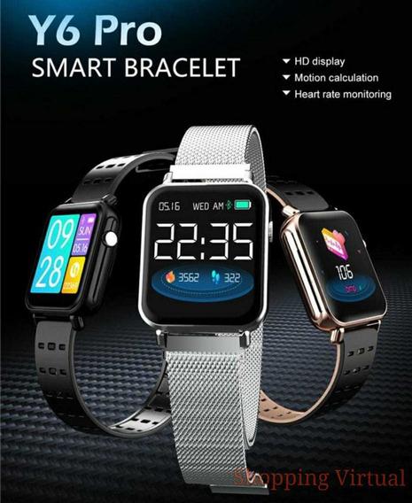 Bracelete Relógio Fashion Y 6 Inteligente