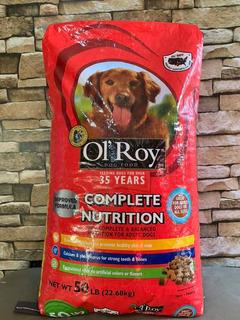 Ol Roy 50 Lbs Complete Nutrition (croqueta Americana)