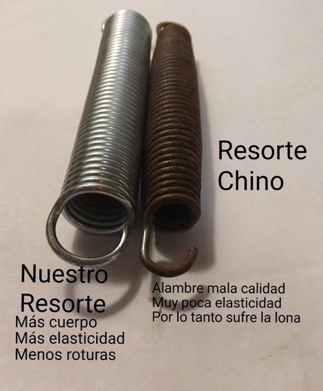 Resorte Cama Elástica 14 Cm X 10 Unidades