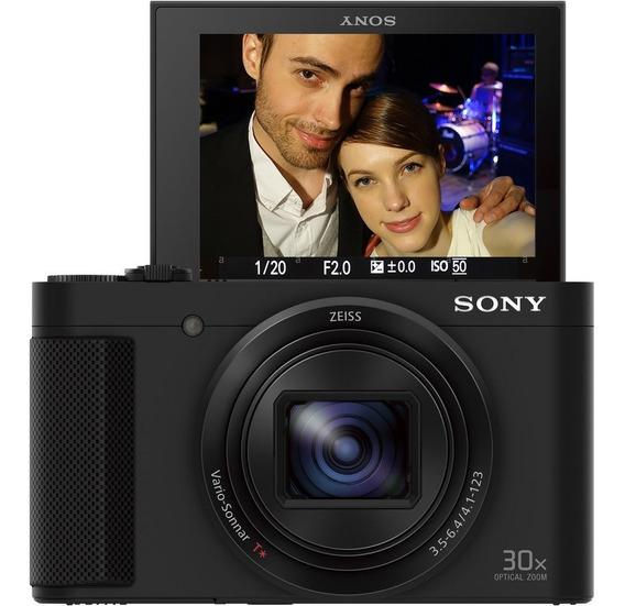 Câmera Sony Cybershot Dsc-hx80 20.4mp Zoom 30x - Hx80