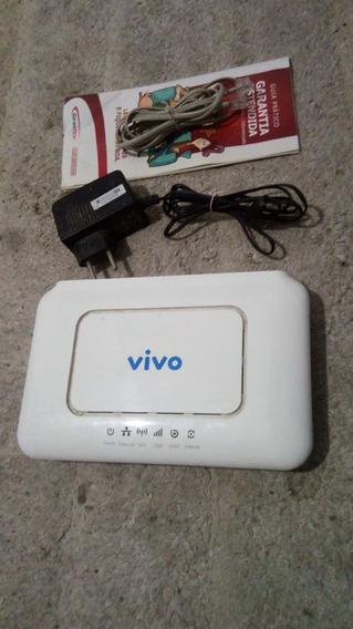 Modem Roteador Wi- Fi Vivo Speedy Usb 3g Com Fonte Completo