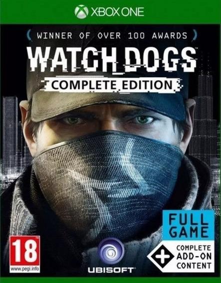 Watch Dogs Complete Edition Xbox One Codigo 25 Dígitos