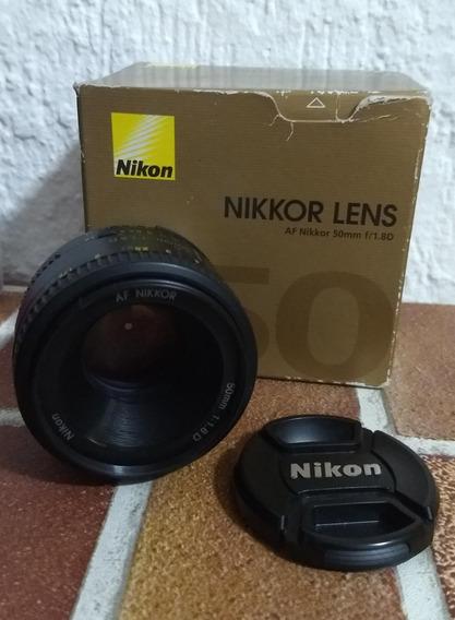 Lente Nikon 50 Mm