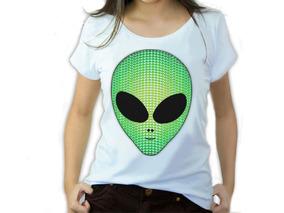 Roupas Camisetas Femininas Rosto Et Alien Iaia Brasil