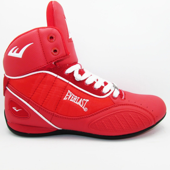 Tenis Everlast Casual Box El 1502 Rojo Blanco Unisex