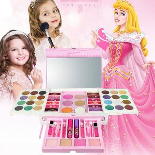Kit De Maquillaje De Niñas Para Niños Lavable A La Moda Conj