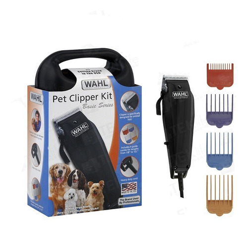 Maquina Corta Pelo Rasuradora De Perro Mascotas Wahl Calidad Casera Negra