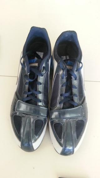 Zapatillas De Atletismo C/clavos. Azul/gris Consultar Talle