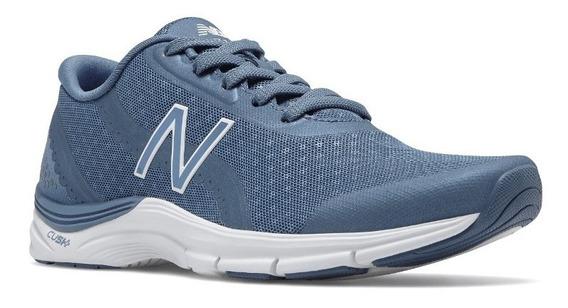 Zapatilla New Balance Running Mujer Wx711bs3 Azul Ras