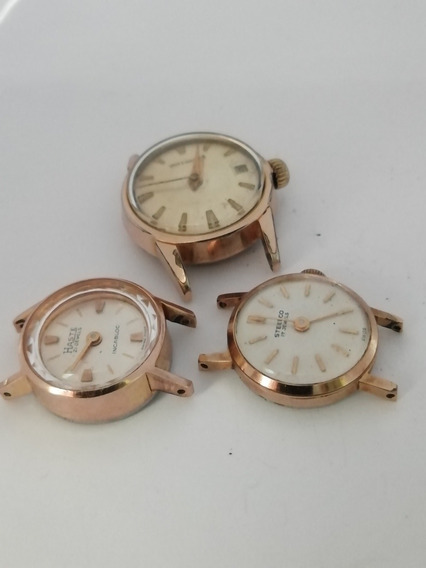 Lote Relojes Haste, Steelco, Wittnauer Reparar