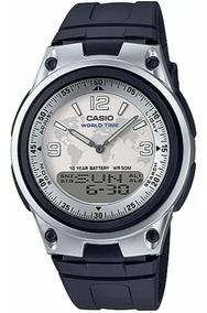 Relógio Casio Anadigi Masculino Aw-80-7a2vdf - Nota Fiscal