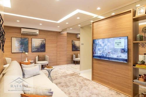 Apartamento Com 2 Dormitórios À Venda, 97 M² Por R$ 891.000,00 - Belenzinho - São Paulo/sp - Ap0810