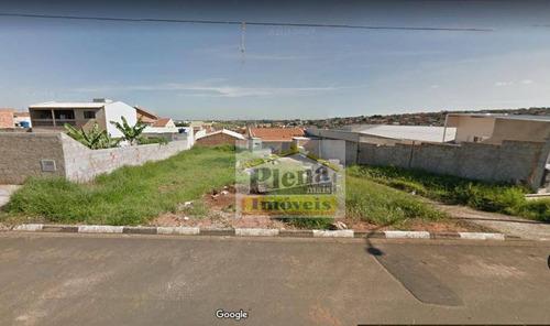 Terreno À Venda, 335 M² Por R$ 190.000,00 - Parque Bom Retiro - Paulínia/sp - Te0665