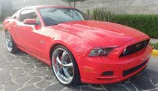 Ford Mustang 2013 5.0l Gt Vip Equipado Piel At