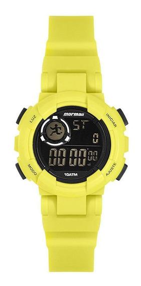 Relógio Unissex Mormaii Nxt Prata - Original
