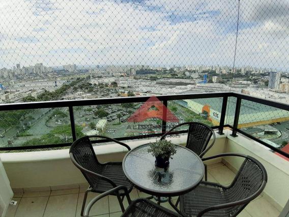 Apartamento Com 4 Dormitórios À Venda, 108 M² Por R$ 565.000 - Floradas De São José - São José Dos Campos/sp - Ap3799