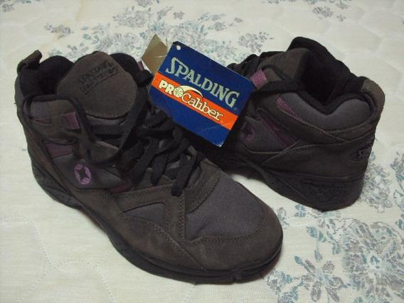 Tênis Spalding 38 Br 9 Usa Original Anos 90 Raridade Coleção