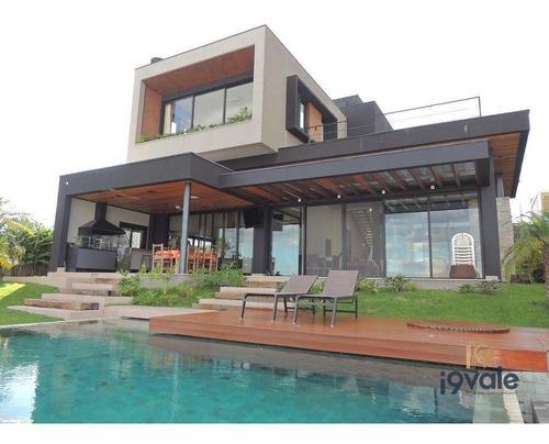 Casa De Luxo 5 Suítes À Venda, 515 M² Condomínio Urbanova - São José Dos Campos/sp - Ca1518
