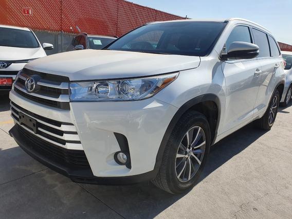 Toyota Highlander 2018 Xle Blanca Comonueva 3 Años Garantia