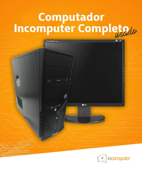 Computador Completo Incomputer Usado
