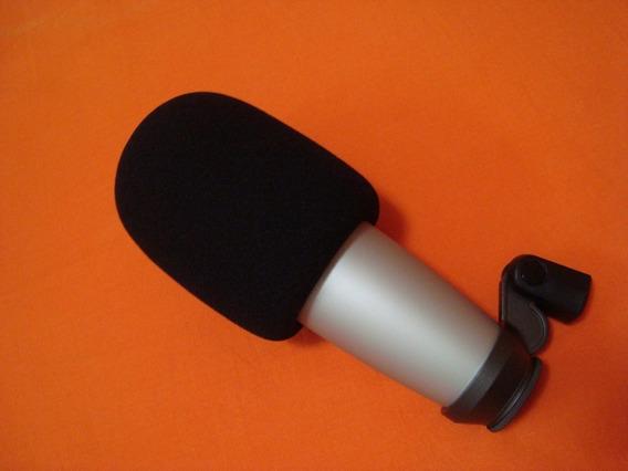Espuma Filtro Pop Filter Samson Ws03 Microfone Condensador