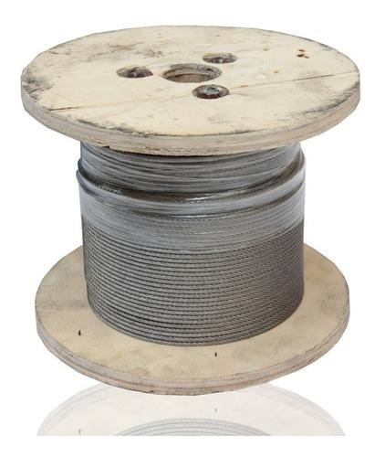 Cable Acero Inoxidable 7x19 150 M De 1/4 Tipo 304 Ecom