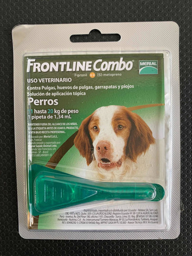 Pipetas Frontline Para Perros 10 A 20 Kg