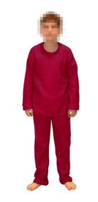Pijama Infantil Soft Tecido Liso 4,6 E 8 Anos - Ori Kids