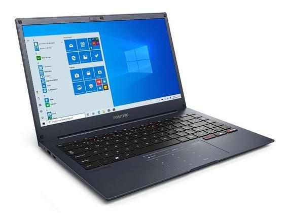 Notebook Positivo Motion Intel Atom Q464b 4gb 64gb Tela14