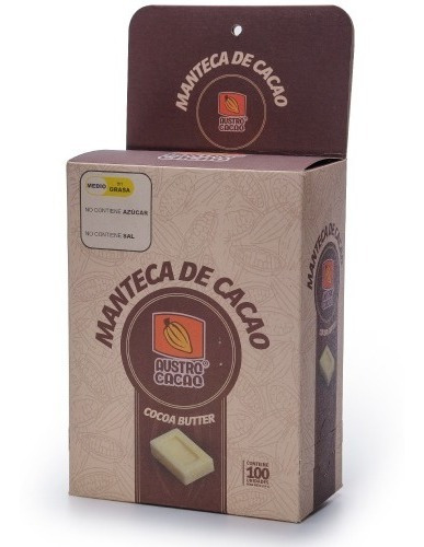 Manteca Cacao Caja 100 Unidades