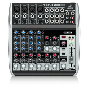 Mesa De Som Behringer Xenyx Q1202usb 4 Pre-amplificadores X