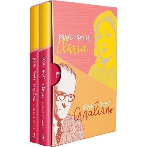 Box 2 Livros - Para Amar Clarice + Graciliano Ramos