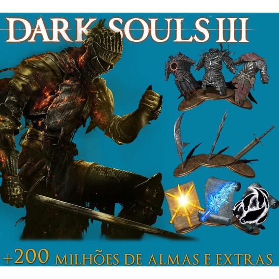 Todos Os Itens + Dlcs Dark Souls 3 Pc + 200 Milhões De Almas