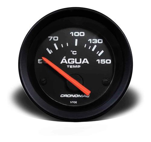 Imagem 1 de 2 de Termometro Água Com Sensor Temperatura, Eletrico 52mm Str Pt