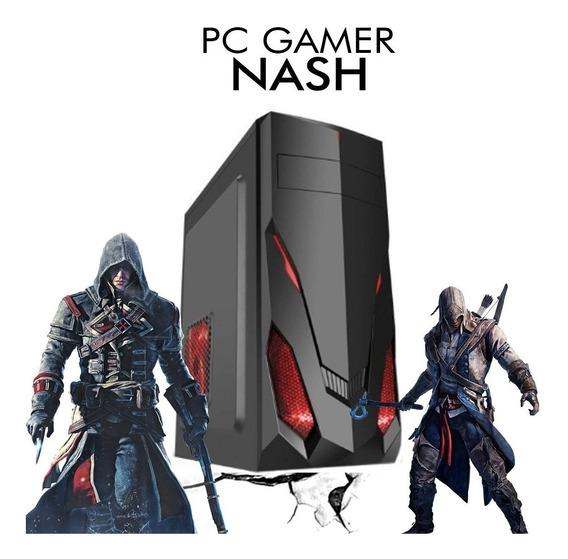 Pc Gamer Core I5-8400 Gtx 1650 4gb 1tb, 8gb Ram + Nfe