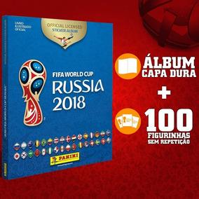 Kit Album Copa Do Mundo Capa Dura 2018 + 100 Figurinhas