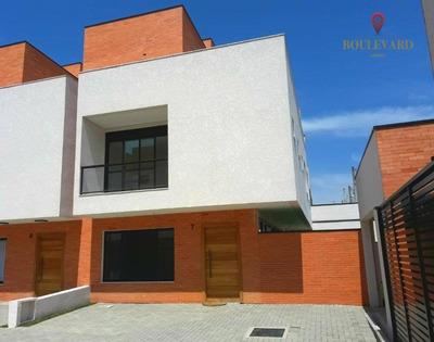 Sobrado/casa Em Condomínio 3 Suites No Atuba - So0122