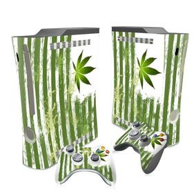 Skin Xbox 360 Slim Maconha