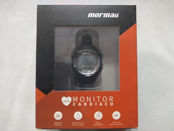 Relógio Digital Monitor Cardíaco Mormaii Mo11558a/8a Unissex