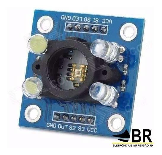 Sensor De Cor Tcs3200 E Reconhecimento Tcs230