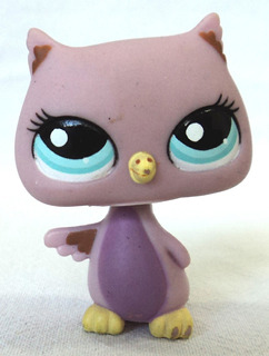Littlest Pet Shop Original Lechuza Buho Hasbro