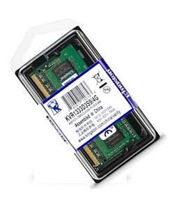 Memoria Kingston Sodimm Notebook Ddr3 4gb 1333mhz Pc3-10600